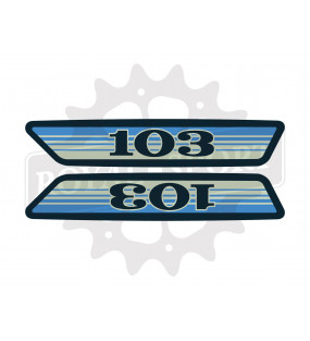 Stickers Peugeot 103