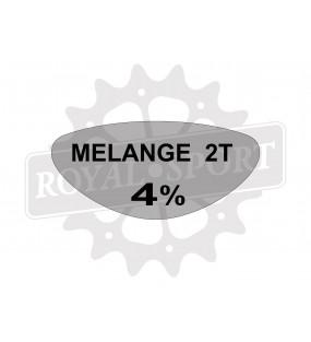 Sticker melange 2T Peugeot...