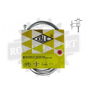Câble frein V-BRAKE 1m70 15/10