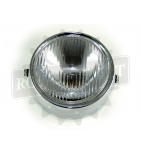 Phare rond 130 mm chrome