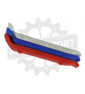 Démonte pneu vélo tricolore