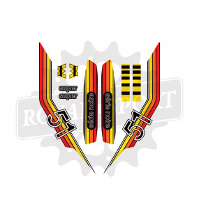 copy of Stikers MBK51 BLEU